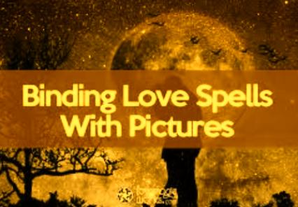Binding Love Spells With Photos