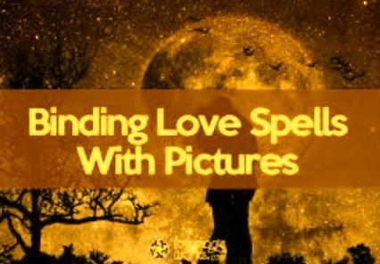 Binding Love Spells With Photos